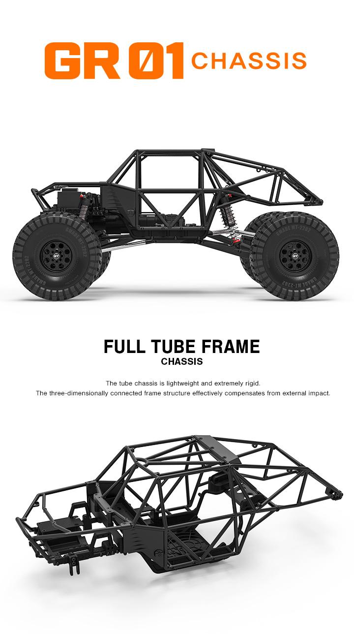 GOM Rock Crawler Buggy Kit, GMA56000 1/10 Scale, 4WD