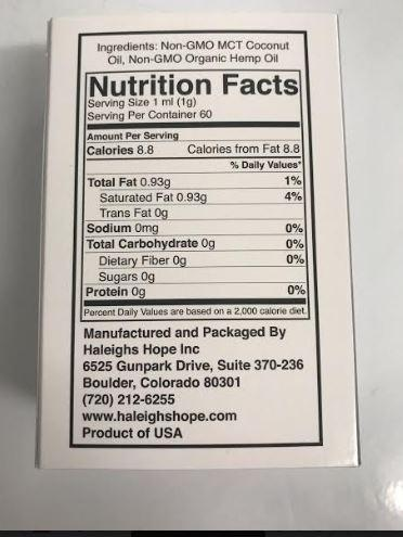 Haleigh's Hope Organic 15:1 w  MCT Oil Blend-Non-GMO O MCT Cocnut facts.JPG