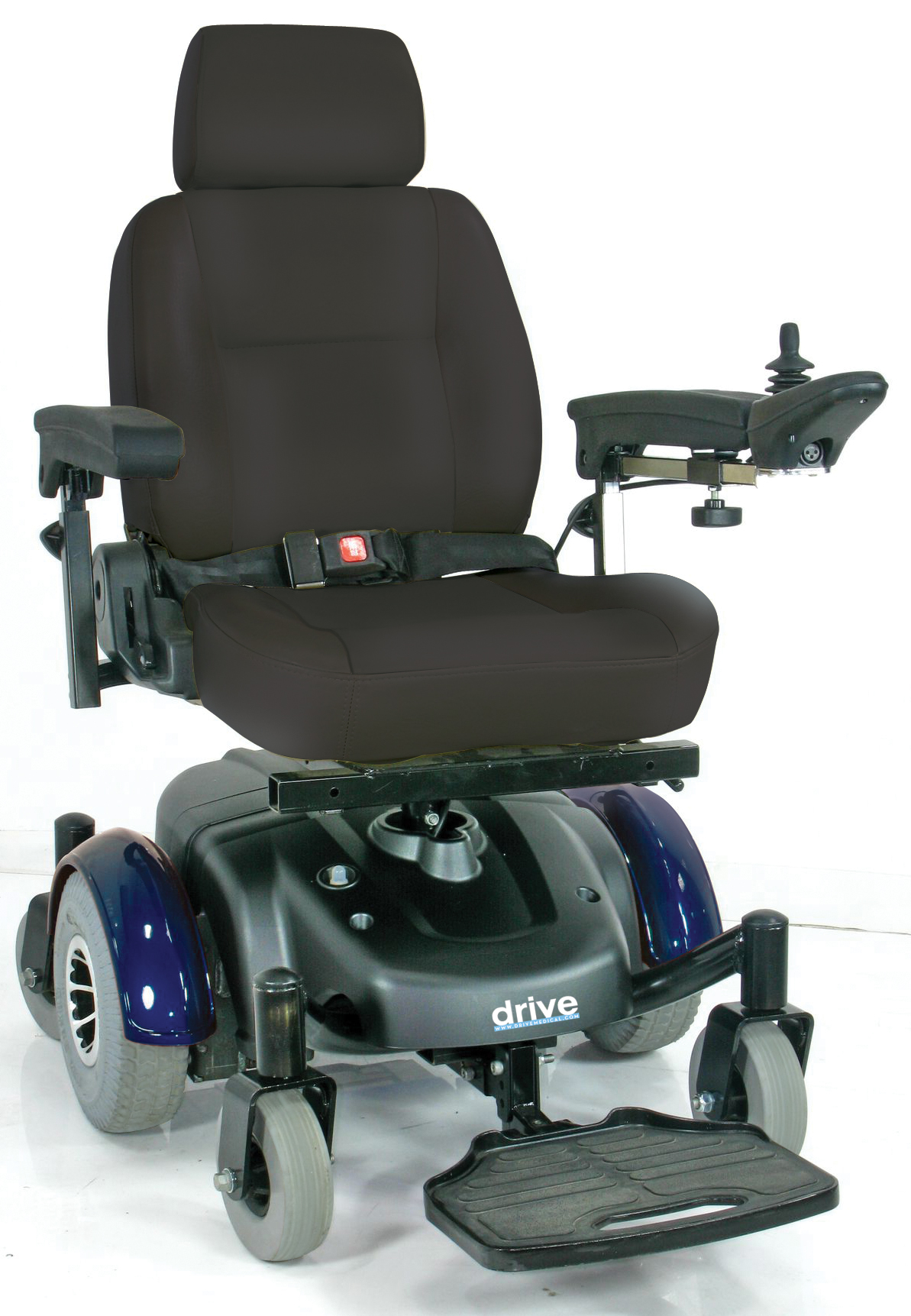 "Image EC Mid Wheel Drive Power Wheelchair 20"" - 2800ecbu-rcl-20-powerchair2800ecbu-rcla_1.jpg"