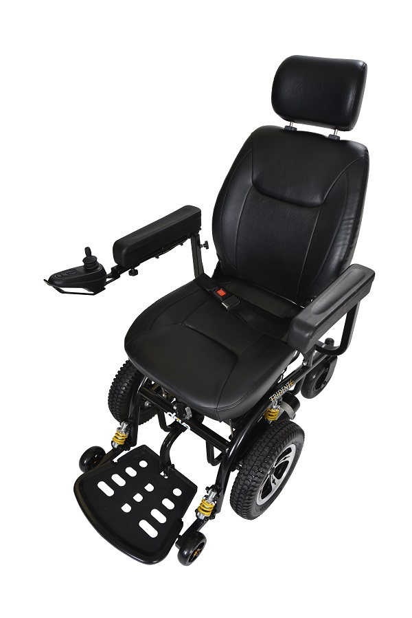 "Trident Front Wheel Drive Power Wheelchair 18"" Captain Seat - 2850-18-powerchairtrident2850-18b.jpg"