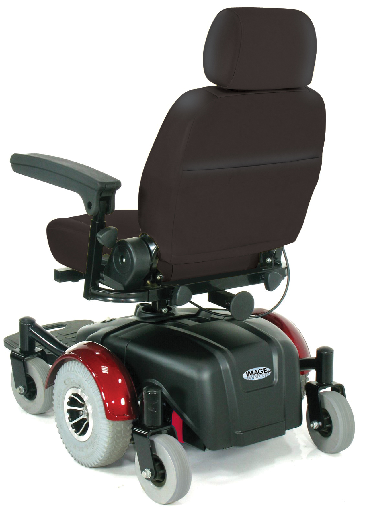 "Image EC Mid Wheel Drive Power Wheelchair 20"" - 2800ecbu-rcl-20-powerchair2800ecbu-rcld.jpg"