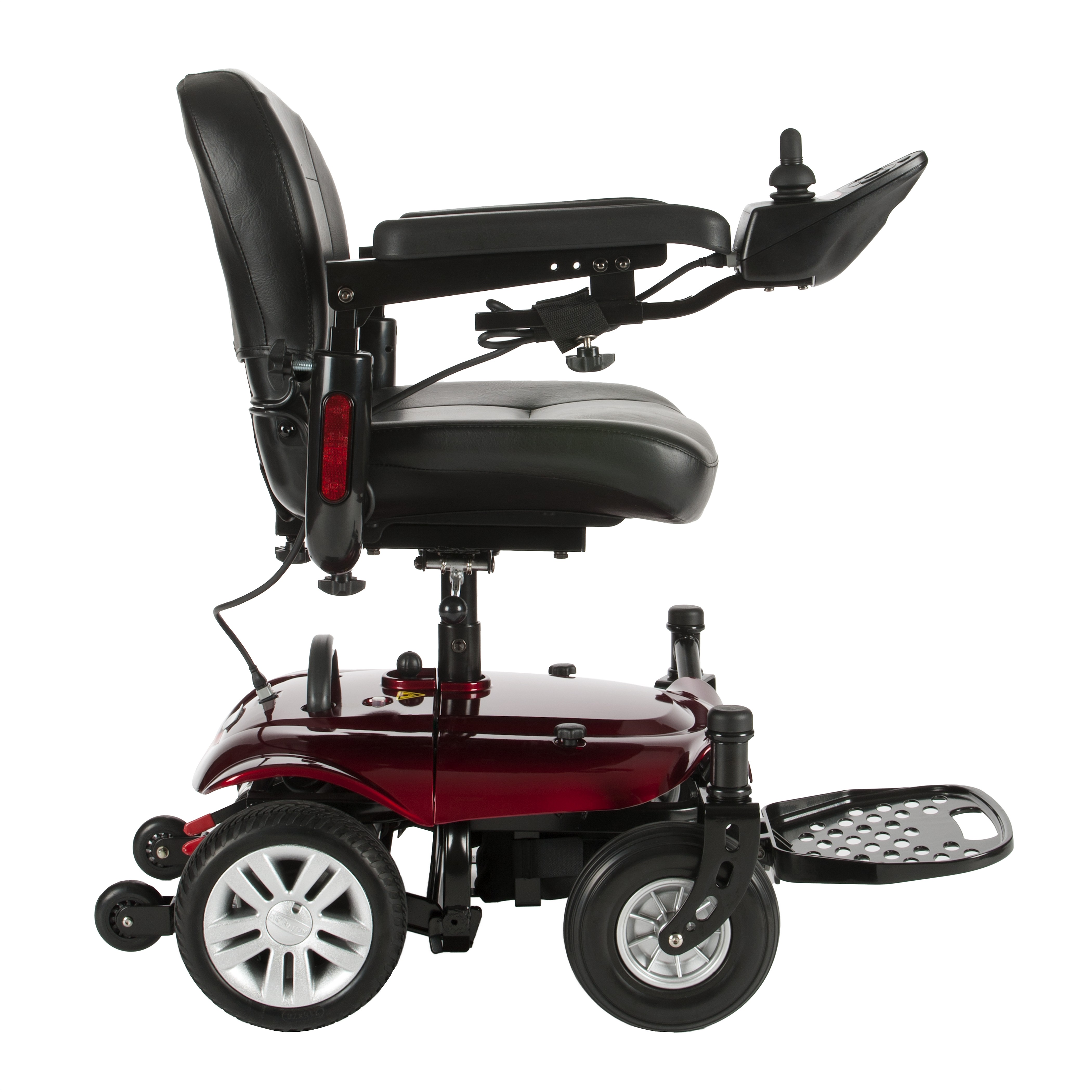 Cobalt X23 Power Chair - COBALTX23RD16FS-powerchairCobaltx23red_insetA_1.jpg