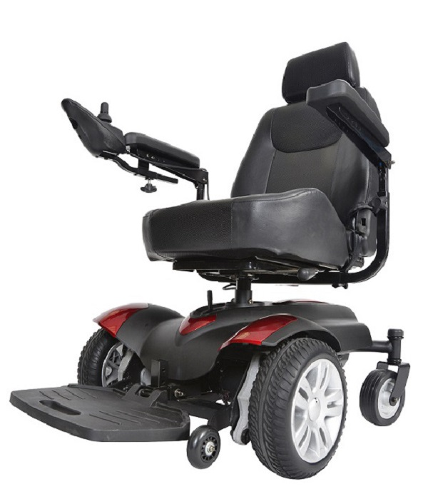 Titan Front Wheel Power Wheelchair 18 inch Vented Captain Seat - TITANLB18CS-powerchairtitanlb18csdcropped_1.jpg