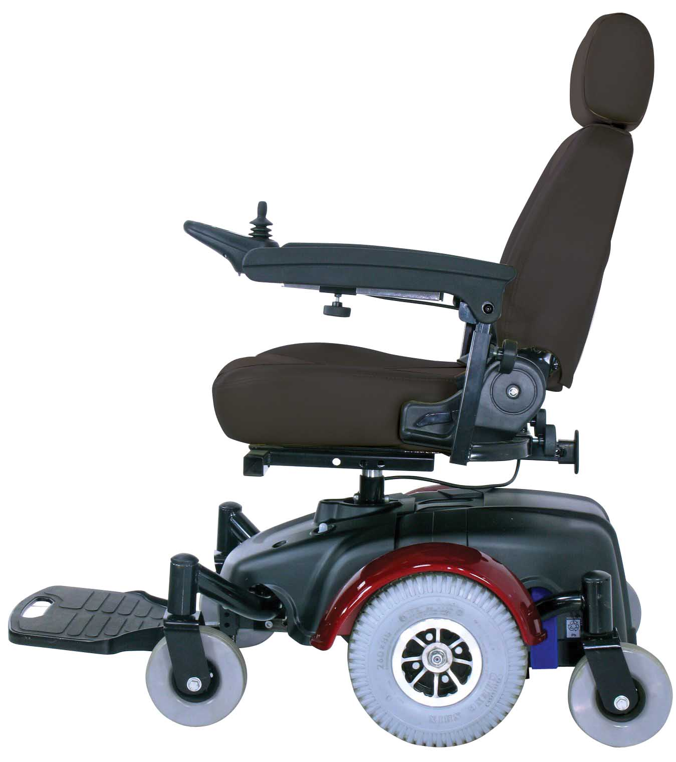 "Image EC Mid Wheel Drive Power Wheelchair 20"" - 2800ecbu-rcl-20-powerchair2800ecbu-rclb.jpg"