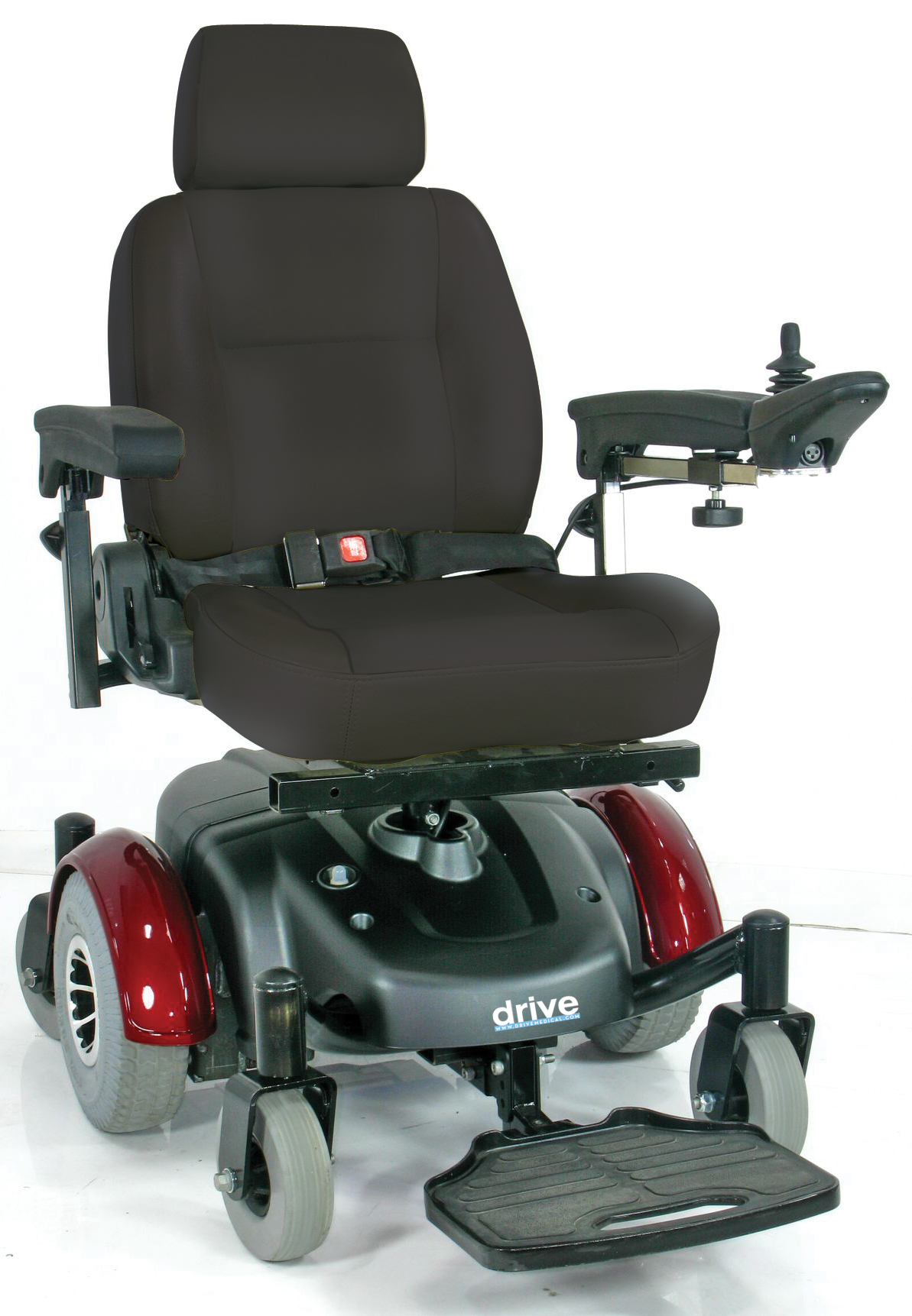"Image EC Mid Wheel Drive Power Wheelchair 20"" - 2800ecbu-rcl-20-powerchair2800ecbu-rcl_1.jpg"