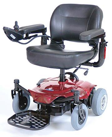 Cobalt Rear Wheel Drive Travel Power Wheelchair - COBALTRD16FS-HR-Cobalt-Red-Iso.jpg
