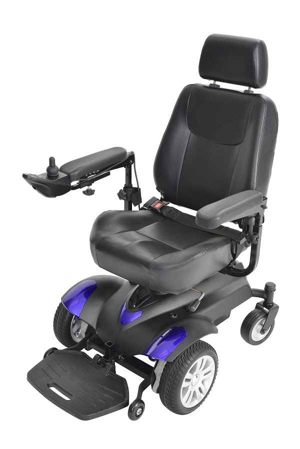 Titan Front Wheel Power Wheelchair 18 inch Vented Captain Seat - TITANLB18CS-powerchairtitanlb18cseinblue_.jpg