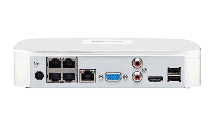 Lorex 4K ULTRA HD NVR with 4 Channels and FLIR Cloud
