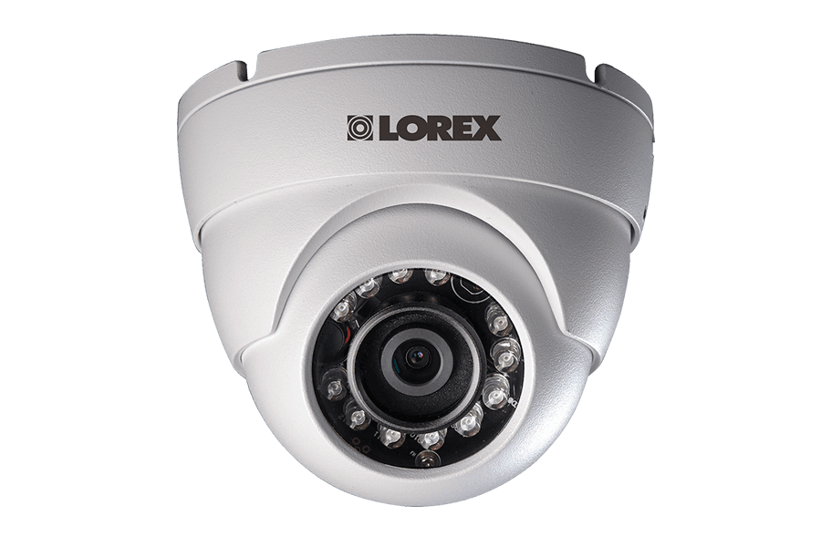 Lorex 720P HD Weatherproof Night Vision Security Dome Camera-LOREXNV1-TOP RANKED SECURITY.png
