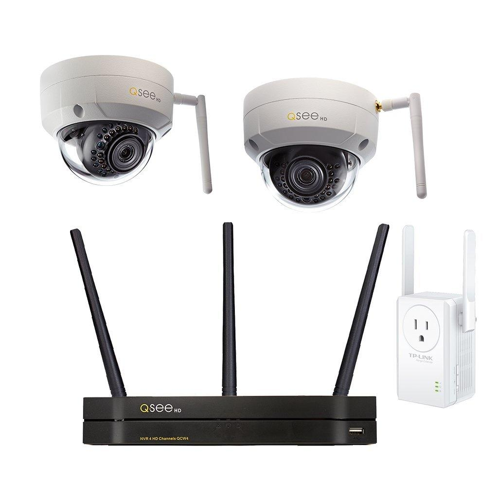 Q-See 4-CHANNEL WI-FI SECURITY SYSTEM WITH 1TB HDD, 2 WI-FI 3MP DOME SECURITY CAMERAS AND 1 WI-FI EXTENDER-1.jpg