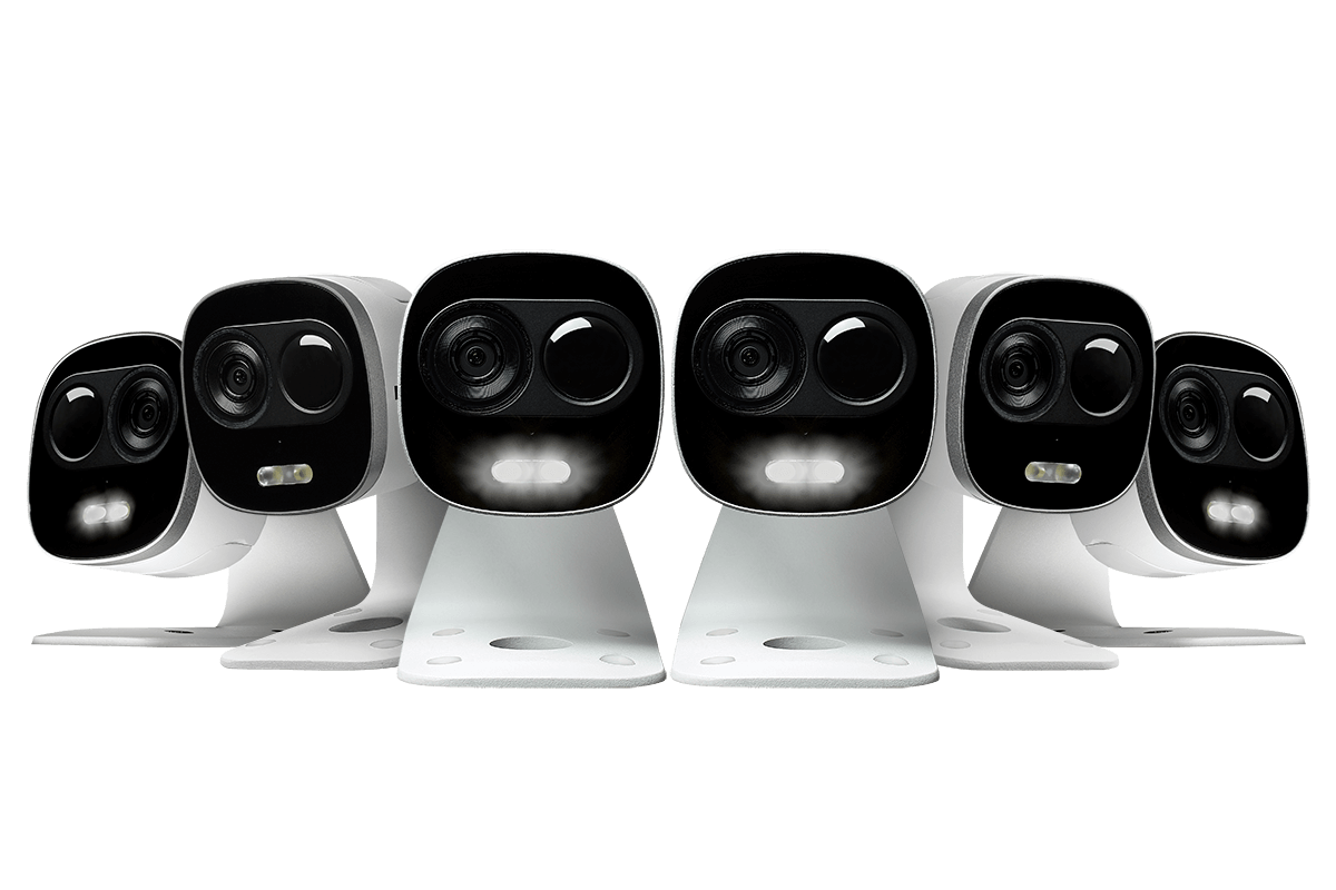 Lorex WiFi HD Outdoor Camera with Motion Activated Bright White Light, Two Way Audio, 85FT Night Vision (6-pack)-Lorex9-Top Ranked Security.png
