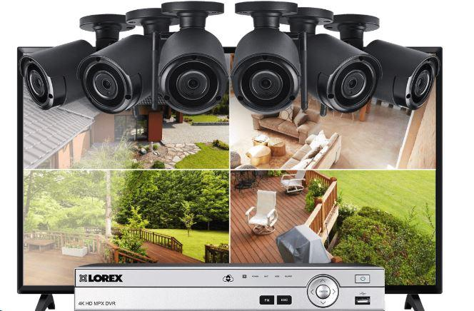 "Lorex 8-Channel System with 6 Wireless Security Cameras and 43"" Monitor-LOREXMW5-TOP RANKED SECRUTIY.JPG"