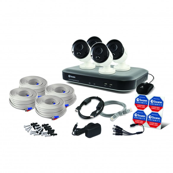 Swann 8 Channel Security System: 4K Ultra HD DVR-5580 with 2TB HDD & 4 x 4K Thermal Sensing Cameras PRO-4KMSB-SWANN 045-TOP RANKED SECURITY.jpg