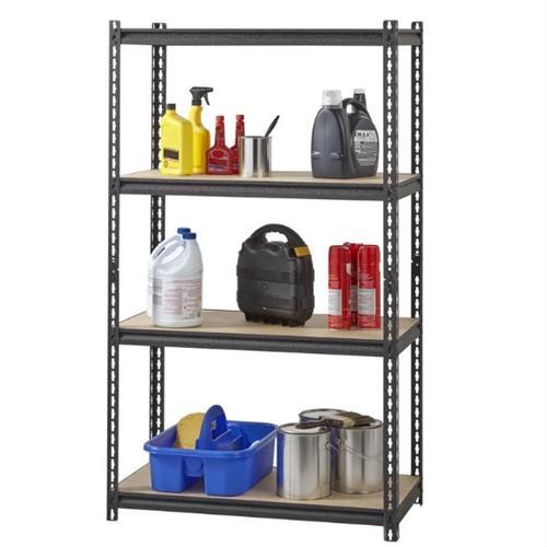 Heavy Duty 4-Shelf Black Storage Rack-HYTGED1988158-2T.jpg