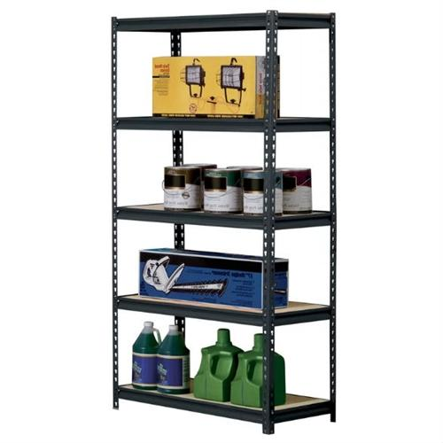 Heavy Duty 5-Shelf Riveted Storage Rack-5 shelf riveted steel.jpg