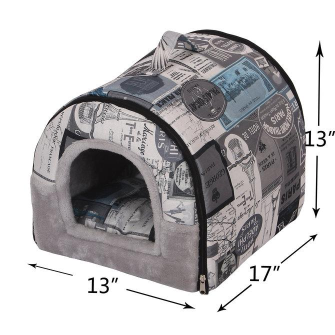 Robust Cat Bed with Carrier-PP05563045-1│▀┤τ.jpg
