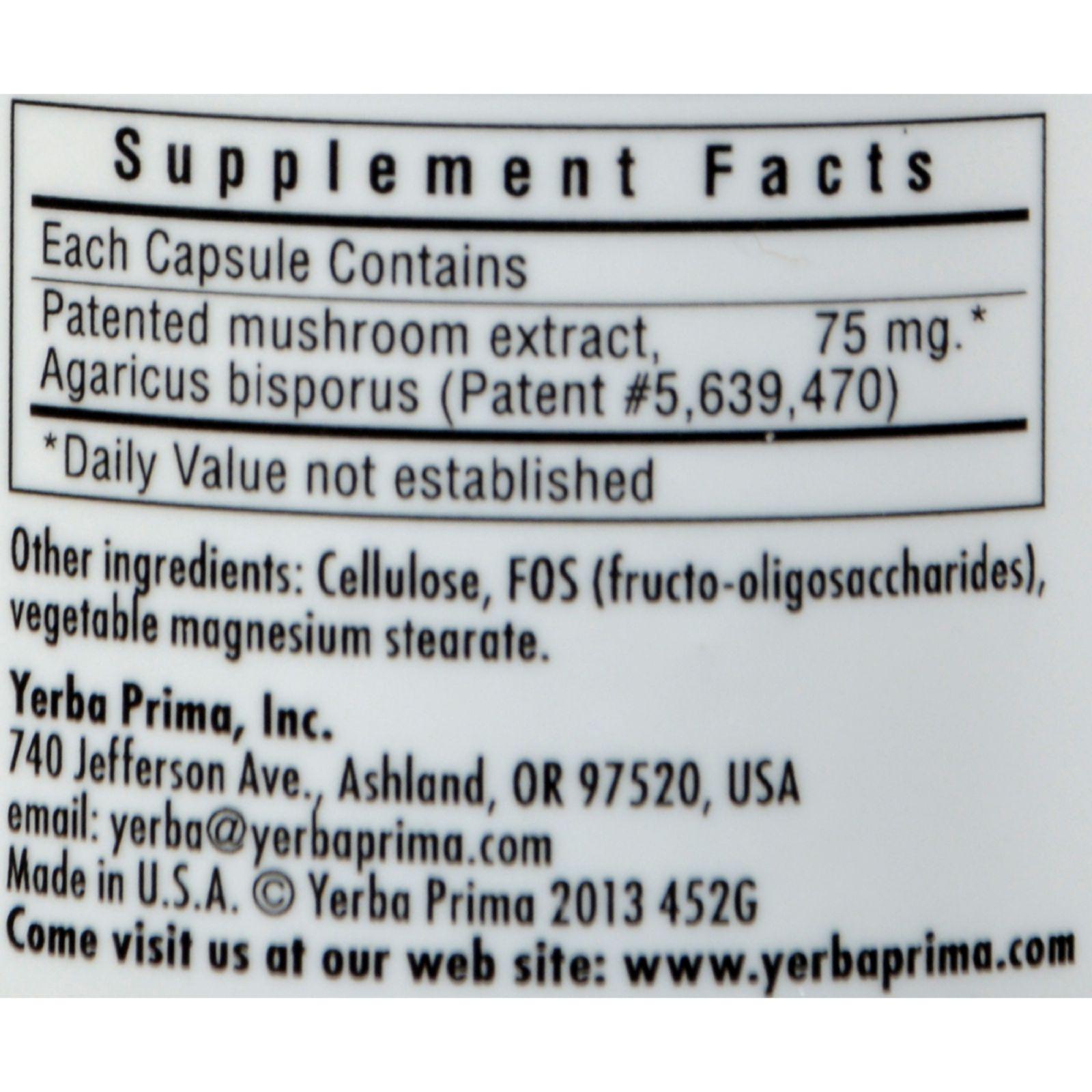 Yerba Prima Odor Cleanse Breath and Body - 50 Capsules