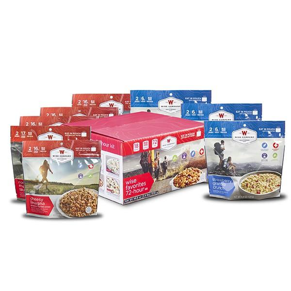 NEW 9 Pack - Wise Favorites  72 Hour Kit-FSF9 - 9 Pack Wise Favorites 72 Hour Kit.jpg