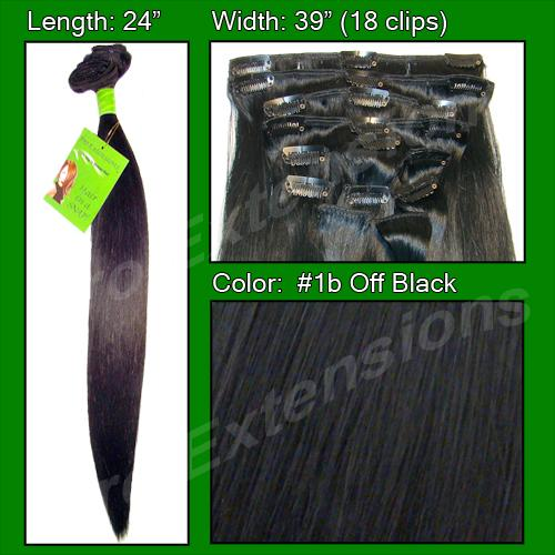 24 Inch Pro Premier Remy Hair, Off Black-SKU PRRM-24-1B  PRO-6002  #1B  OFF BLACK.jpg