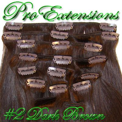 24 Inch Pro Premier Remy Hair, Dark Brown-8c Dark Brown - 24 inch Remy.jpg