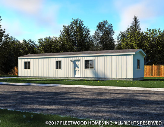 Image of the Fleetwood Homes 14522B Manufactured Home in the Broadmore Series