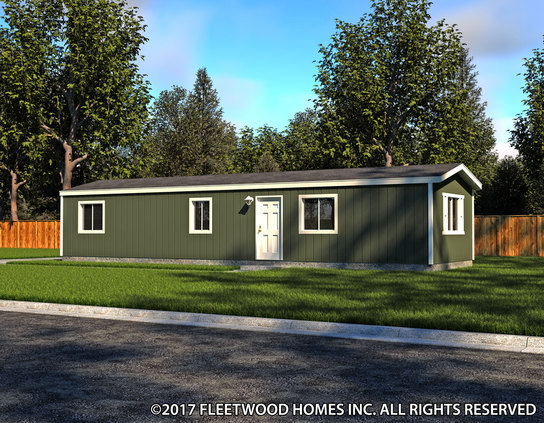 Image of the Fleetwood Homes 14482B Manufactured Home in the Broadmore Series