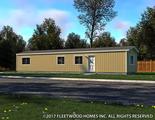 Image of the Fleetwood Homes 14562B Manufactured Home in the Broadmore Series