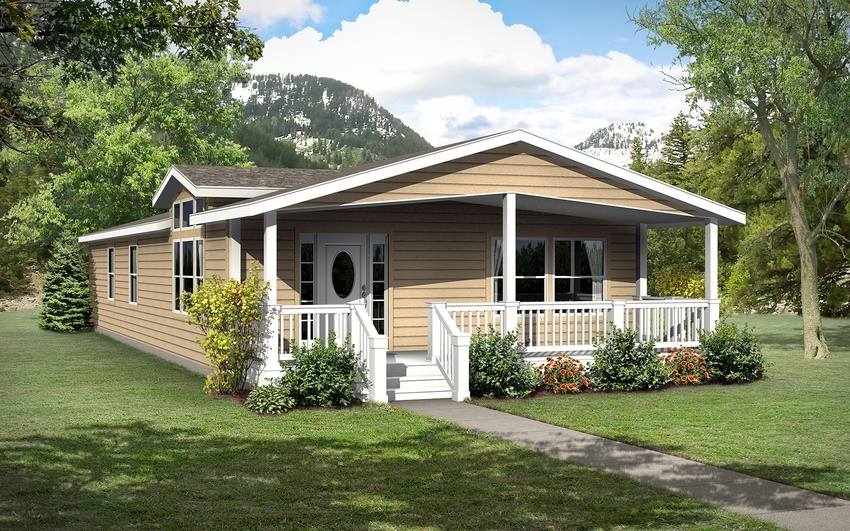 Image of the Champion Homes 4764F Manufactured Home in the Craftsman Series