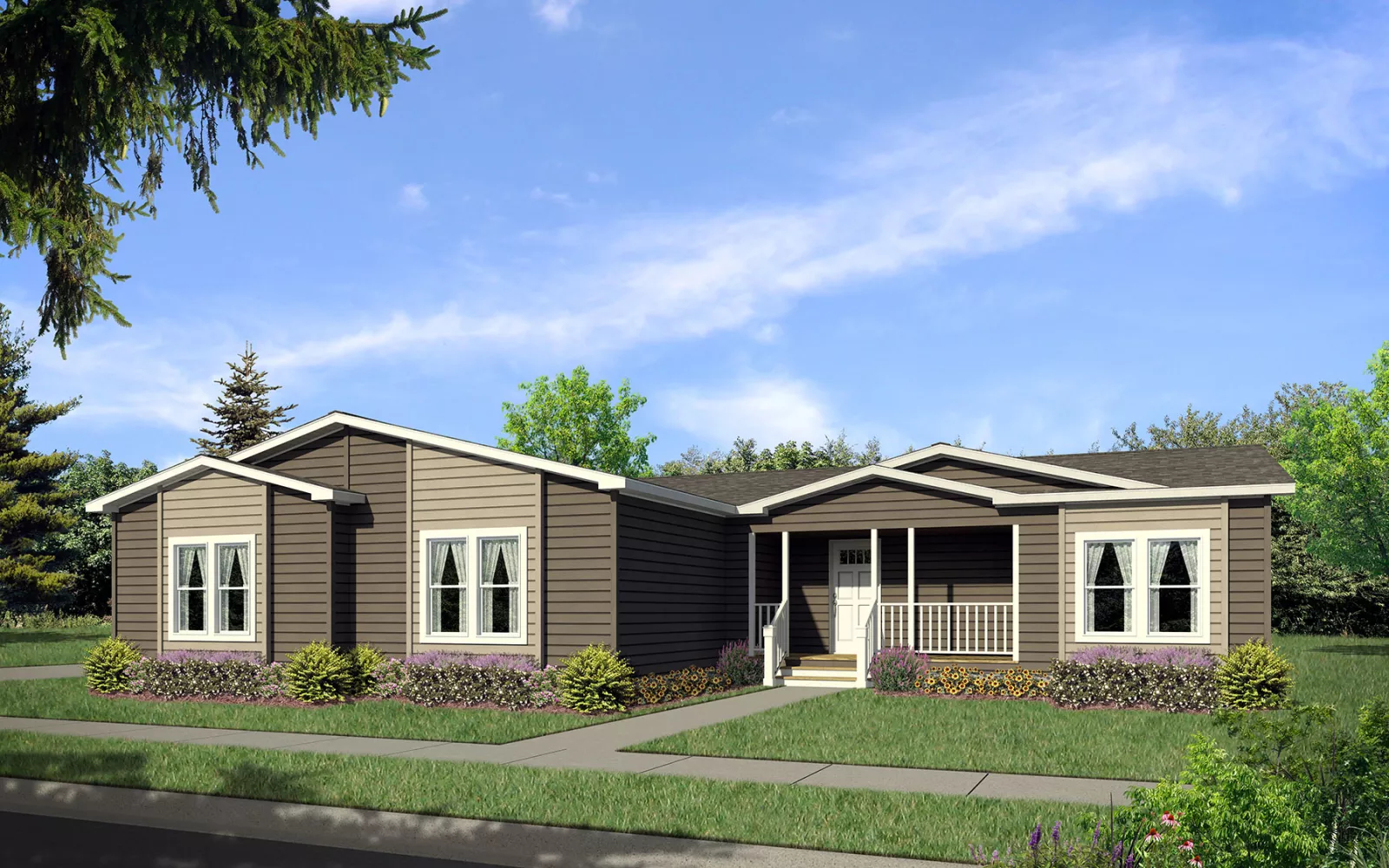 Image of the Champion Homes Avalanche 7603A exterior