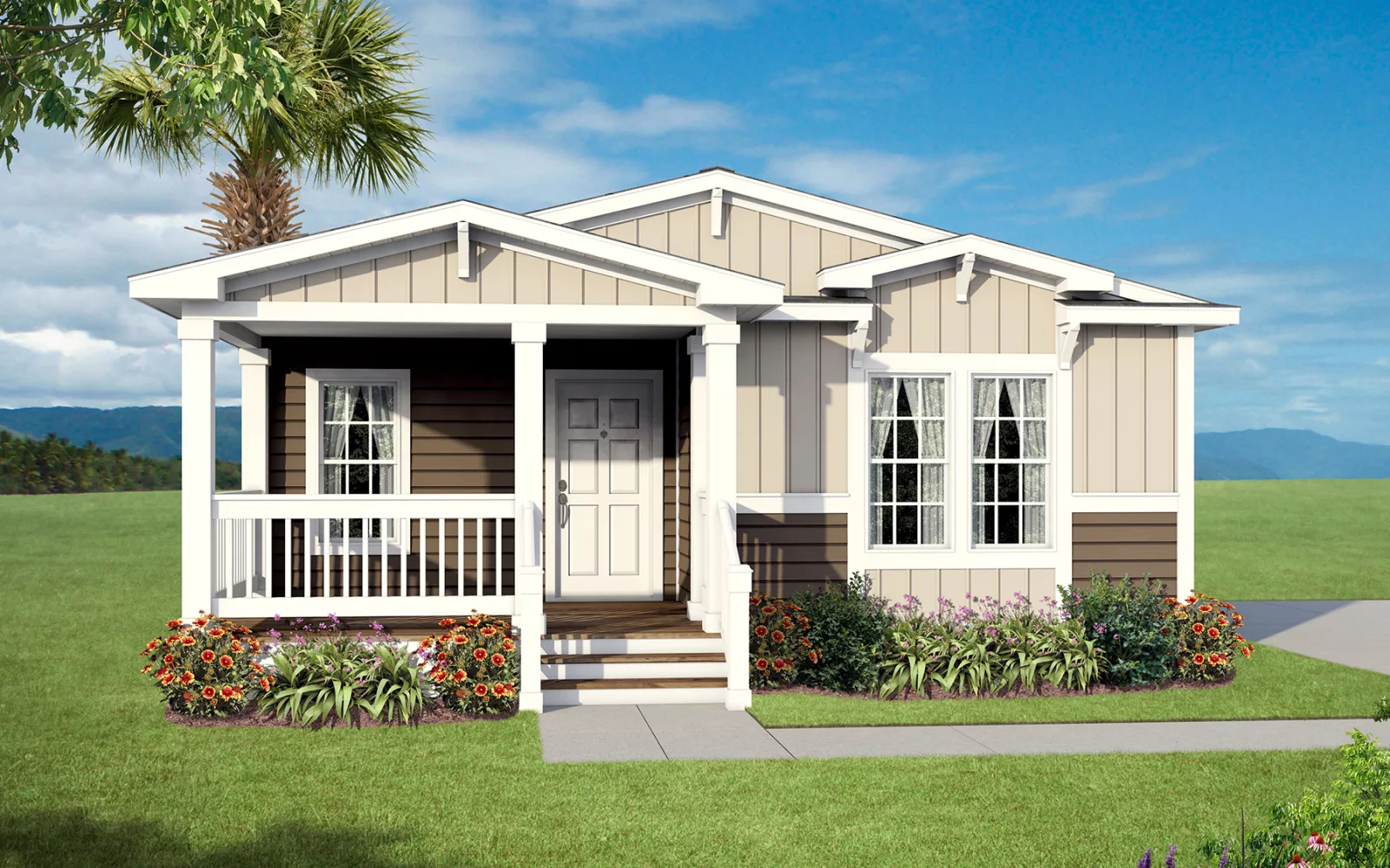 Image of the Champion Homes 4563B Manufactured Home in the Craftsman Series