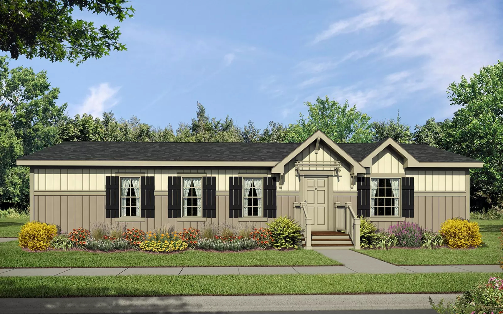 Image of the Champion Homes 4523C Manufactured Home in the Craftsman Series