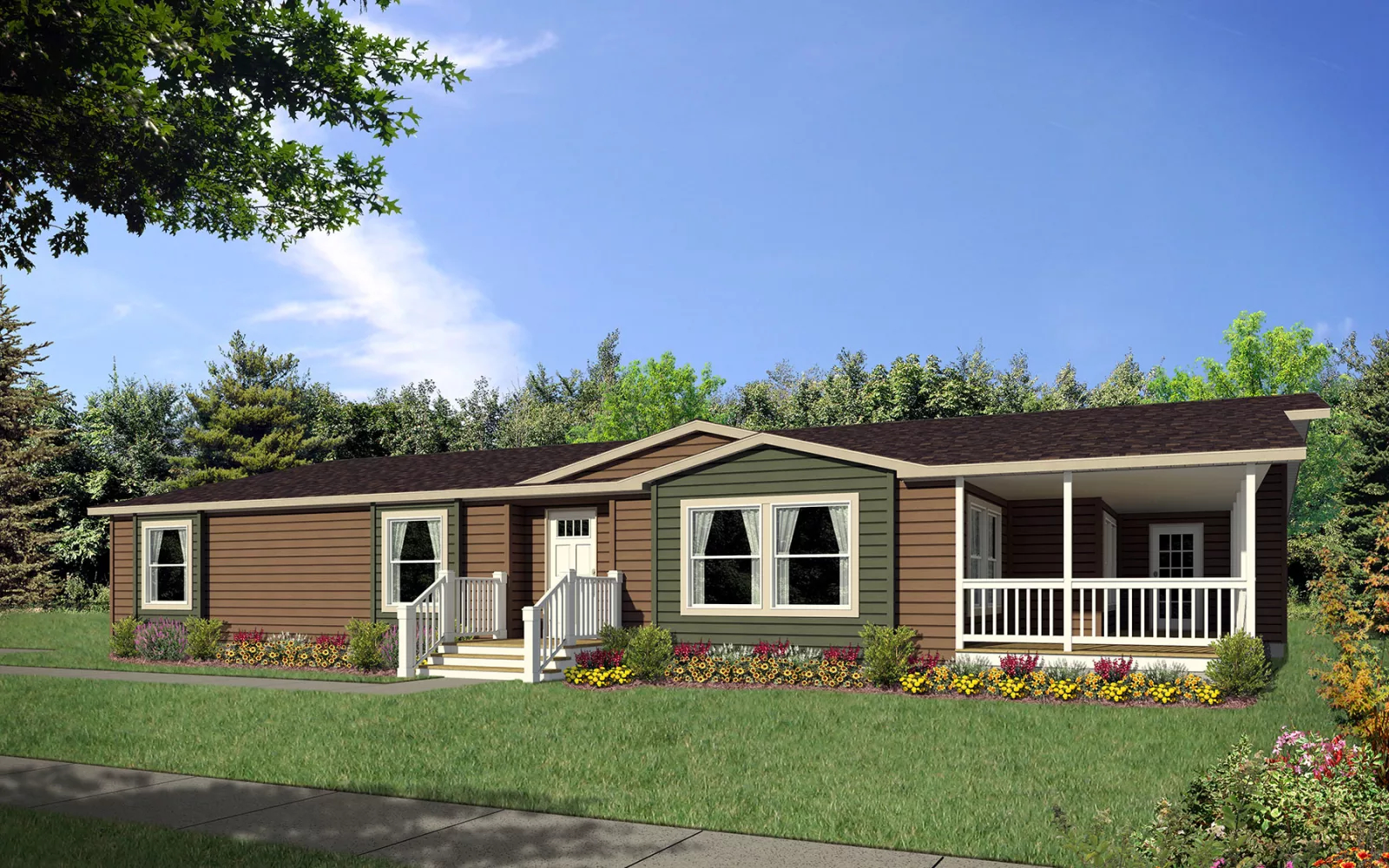 Image of the Champion Homes Avalanche 7684C exterior