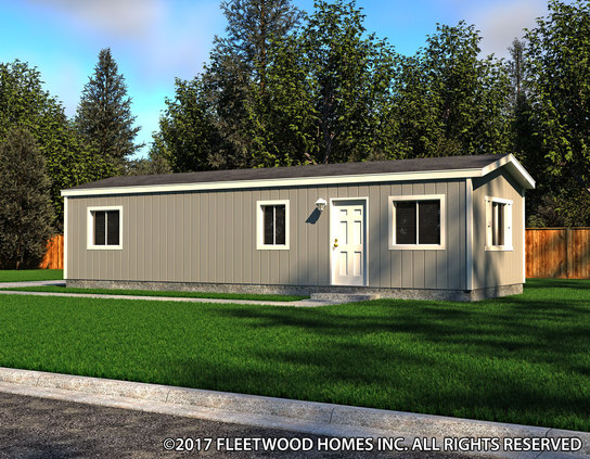 Image of the Fleetwood Homes 14401B Manufactured Home in the Broadmore Series