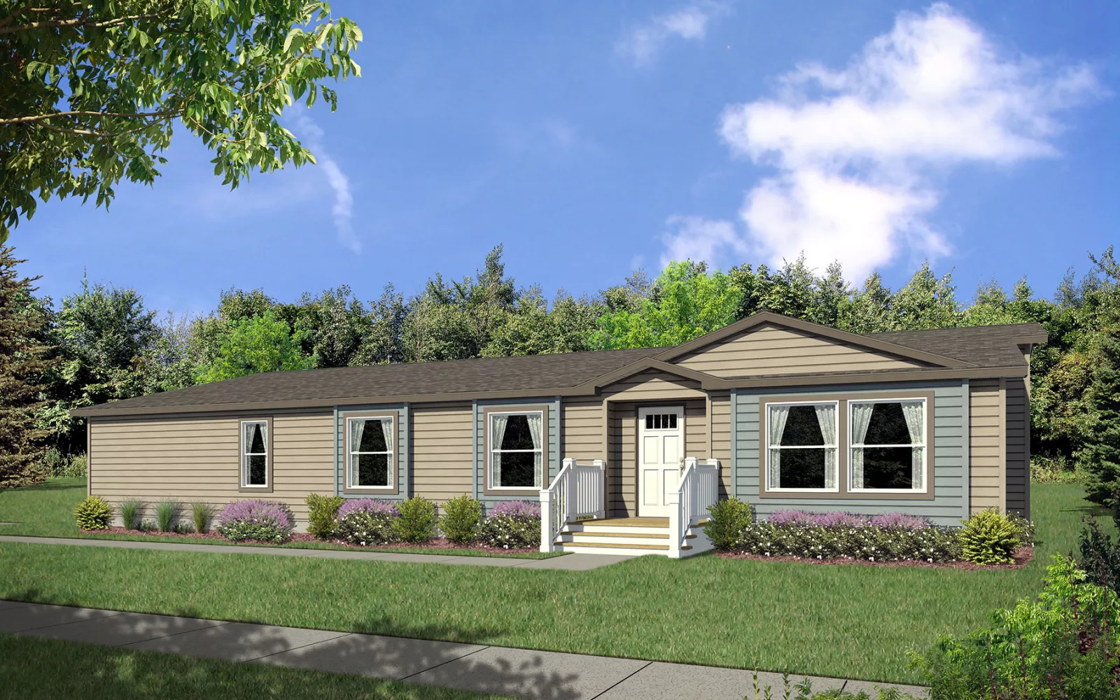 Image of the Champion Homes Avalanche 7683W exterior