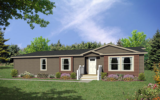 Image of the Champion Homes Avalanche 7583W exterior