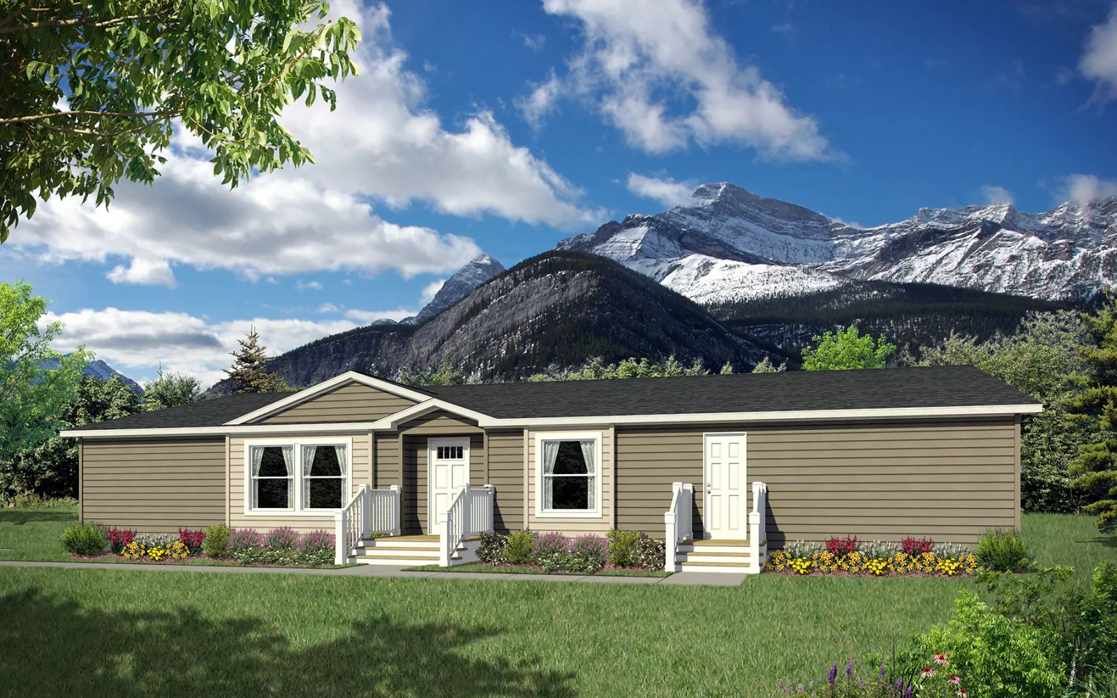 Image of the Champion Homes Avalanche 7664C exterior