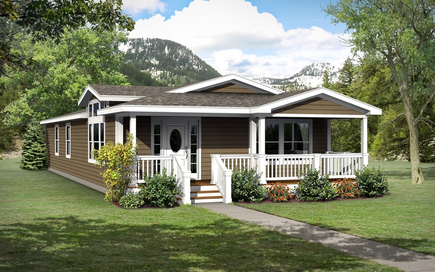 Image of the Champion Homes 4563F Manufactured Home in the Craftsman Series