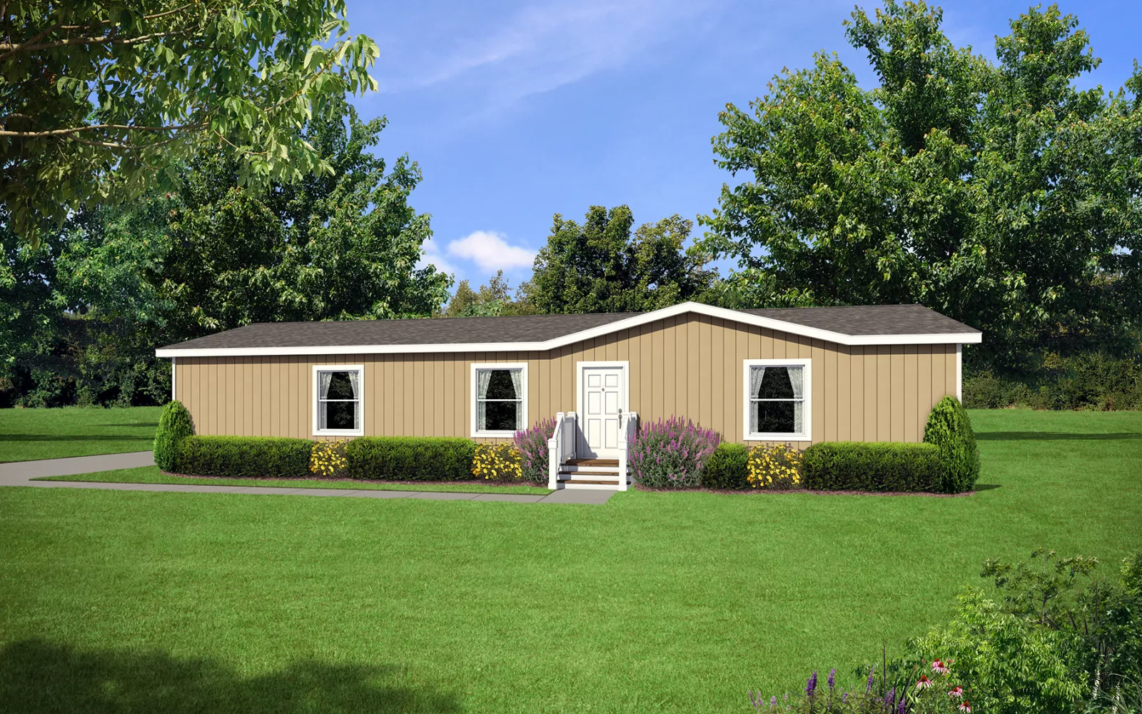Image of the Champion Homes 4603L Manufactured Home in the Mountain West Series