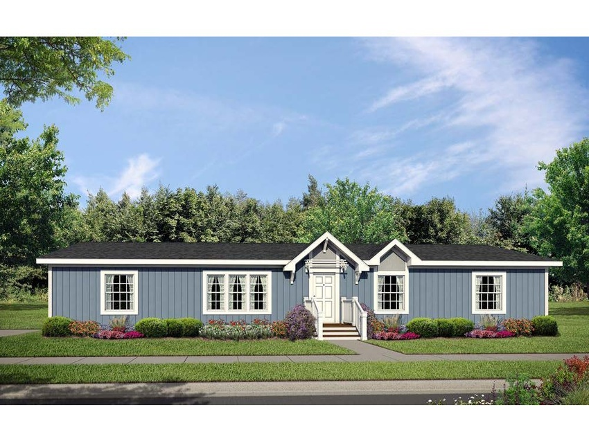 Image of the Champion Homes 7684K Manufactured Home in the Mountain West Series