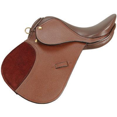 """12"""" Miniature All Purpose Saddle, Brown-21a 12inch Miniature All Purpose Saddle, Brown.jpg"""