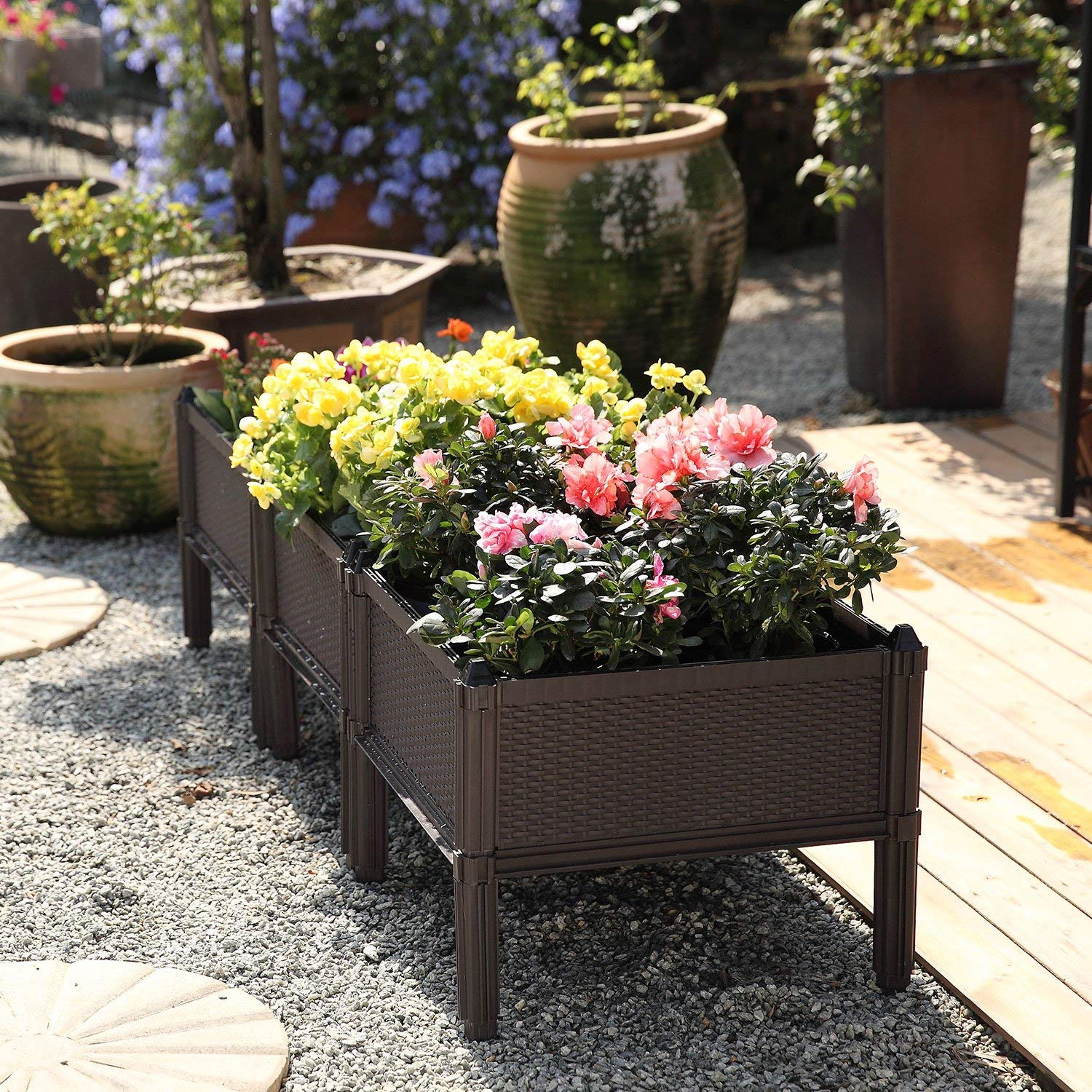 3 pack planters