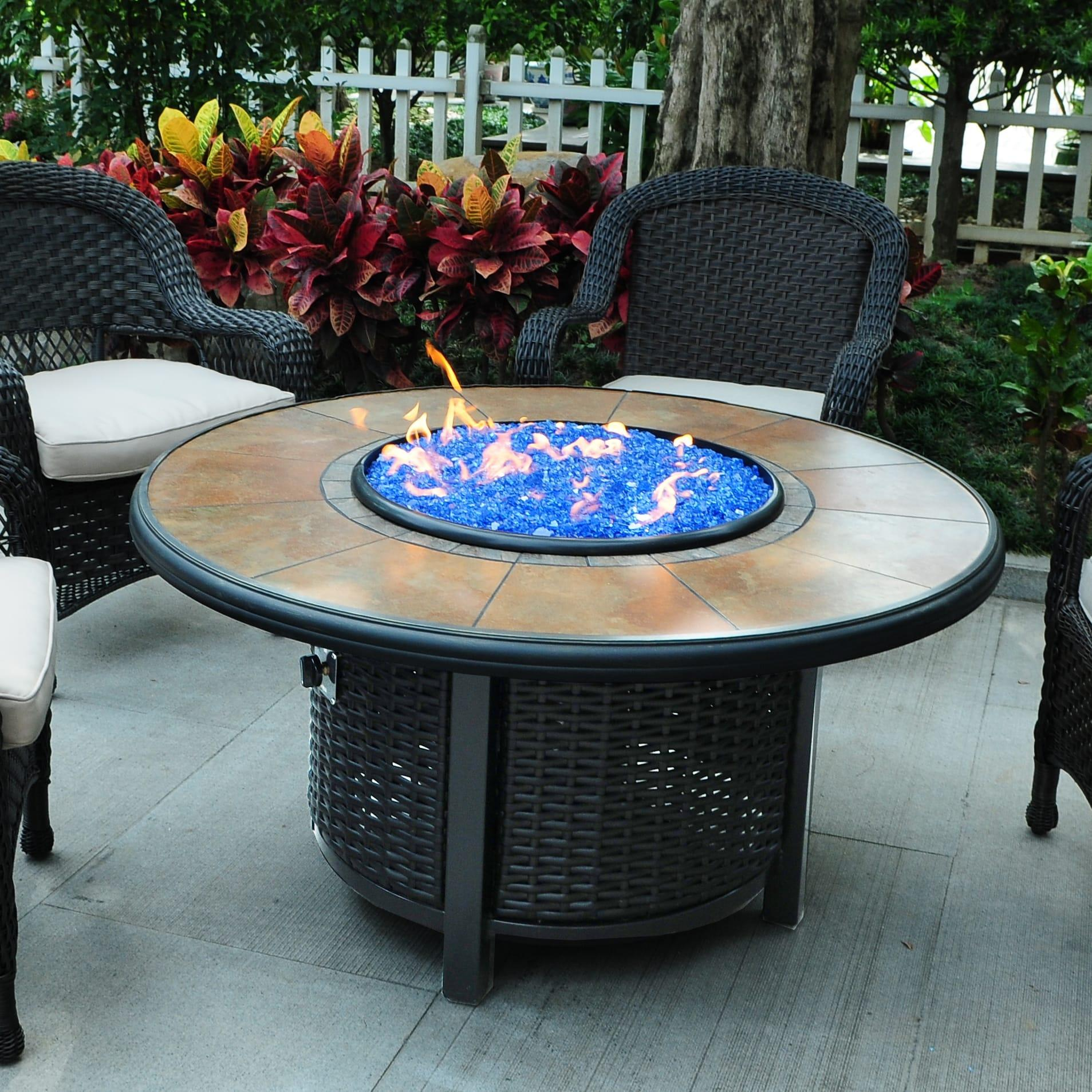 Tretco 48 inch Round Wicker Fire Pit Table-48 inch round wicker fire pit.jpg