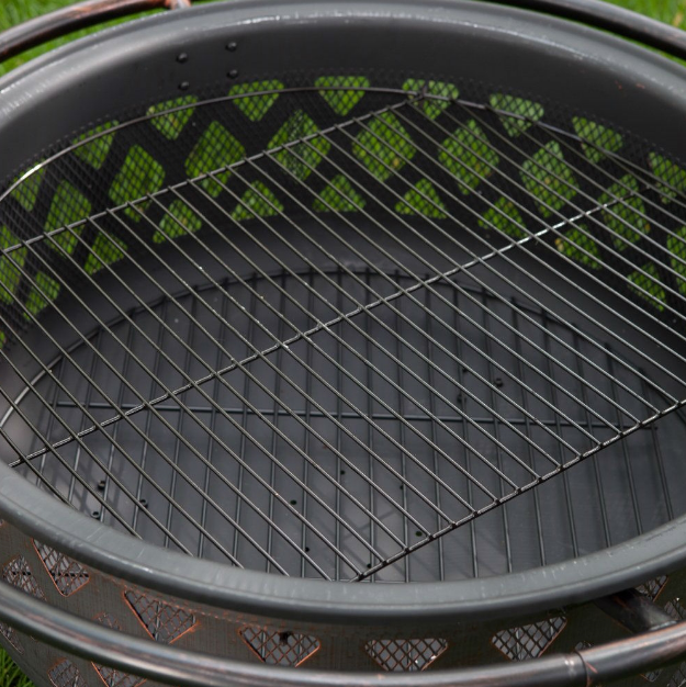 36-inch Bronze Fire Pit with Grill Grate Spark Screen Cover and Poker-36-inch Bronze Fire Pit with Grill Grate Spark Screen Cover and Poker6.PNG