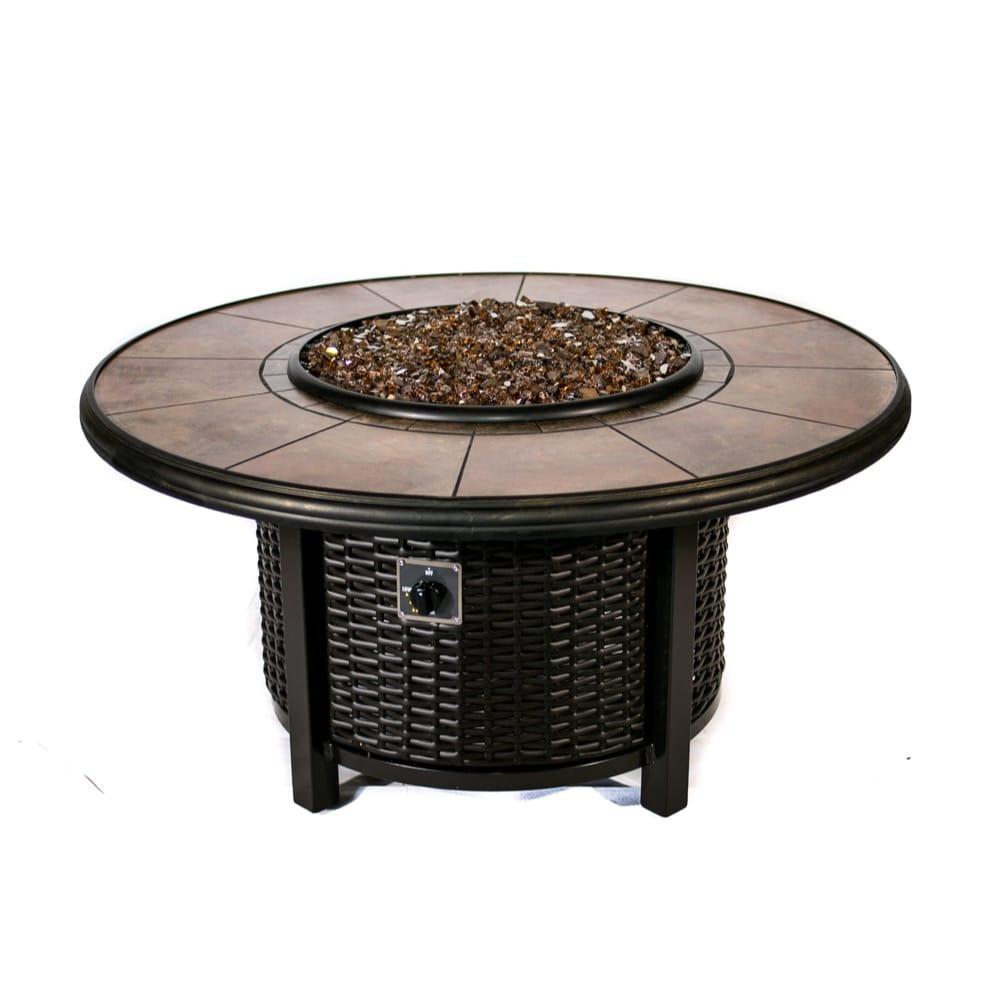 Tretco 48 inch Round Wicker Fire Pit Table-48 inch rond wicker fire pit table.jpg