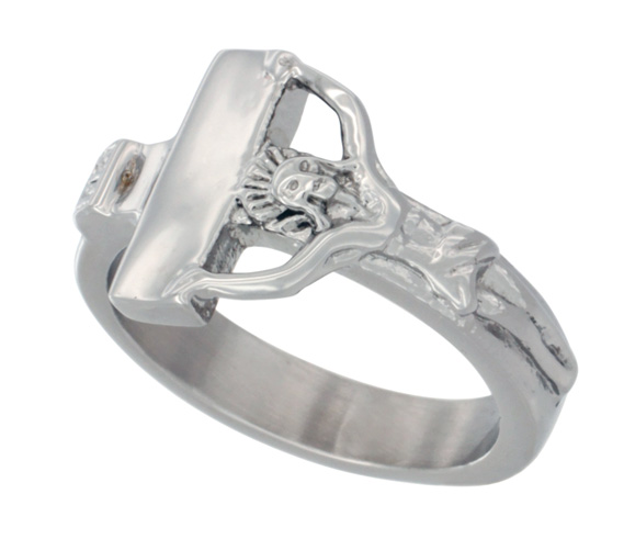 Stainless Steel Crucifix Ring-12a Crucifix Ring.PNG