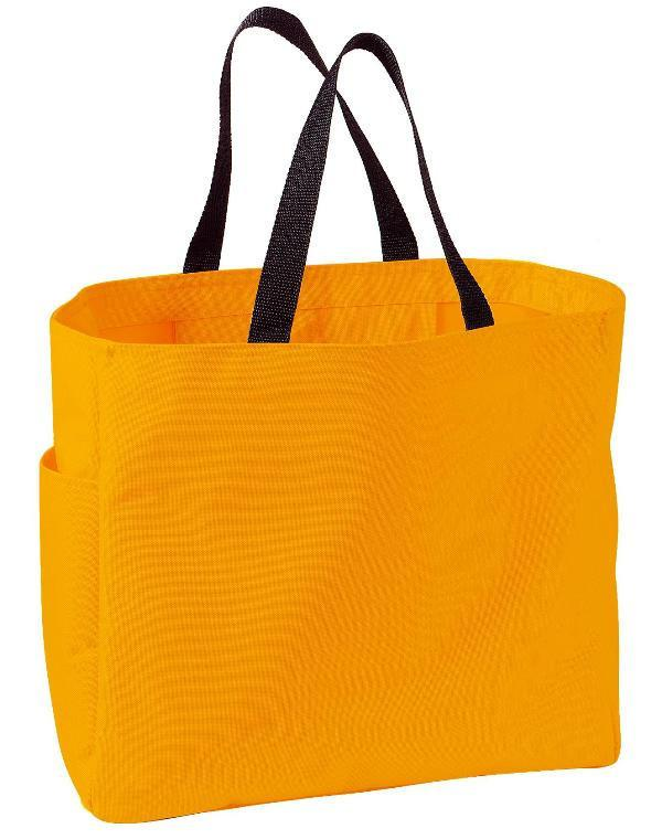 5af774b9b899 Polyester Improved Essential Tote Bags Wholesale