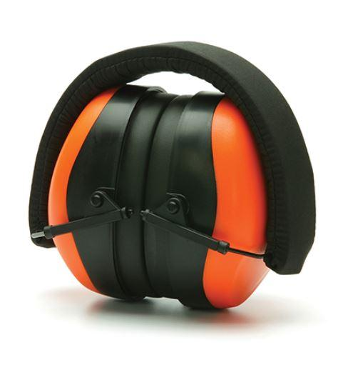 Pyramex Safety Products PM80 Series Earmuffs NRR 26dB, Orange-EarMuffs2.JPG