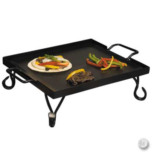 1/2 Size Griddle W/ Wrought Iron Stand-GRIDDLE.jpg