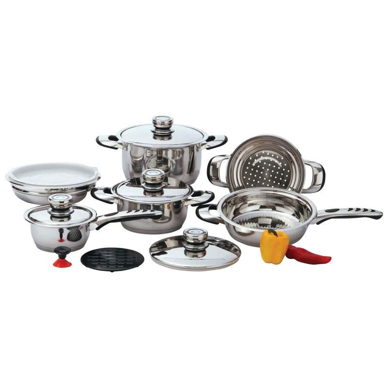 Chef's Secret® 12pc 9-Ply Waterless Heavy-Gauge Stainless Steel Cookware Set-Chef's Secret® 12pc 9-Ply Waterless Heavy-Gauge Stainless Steel Cookware Set.jpg