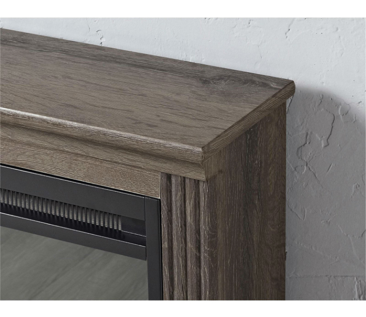 Ventless Electric Fireplace in Espresso Wood Finish-f3 Ventless Electric Fireplace in Espresso Wood Finish.PNG